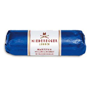 Milk Chocolate Marzipan NIEDEREGGER Classic Loaf 125g